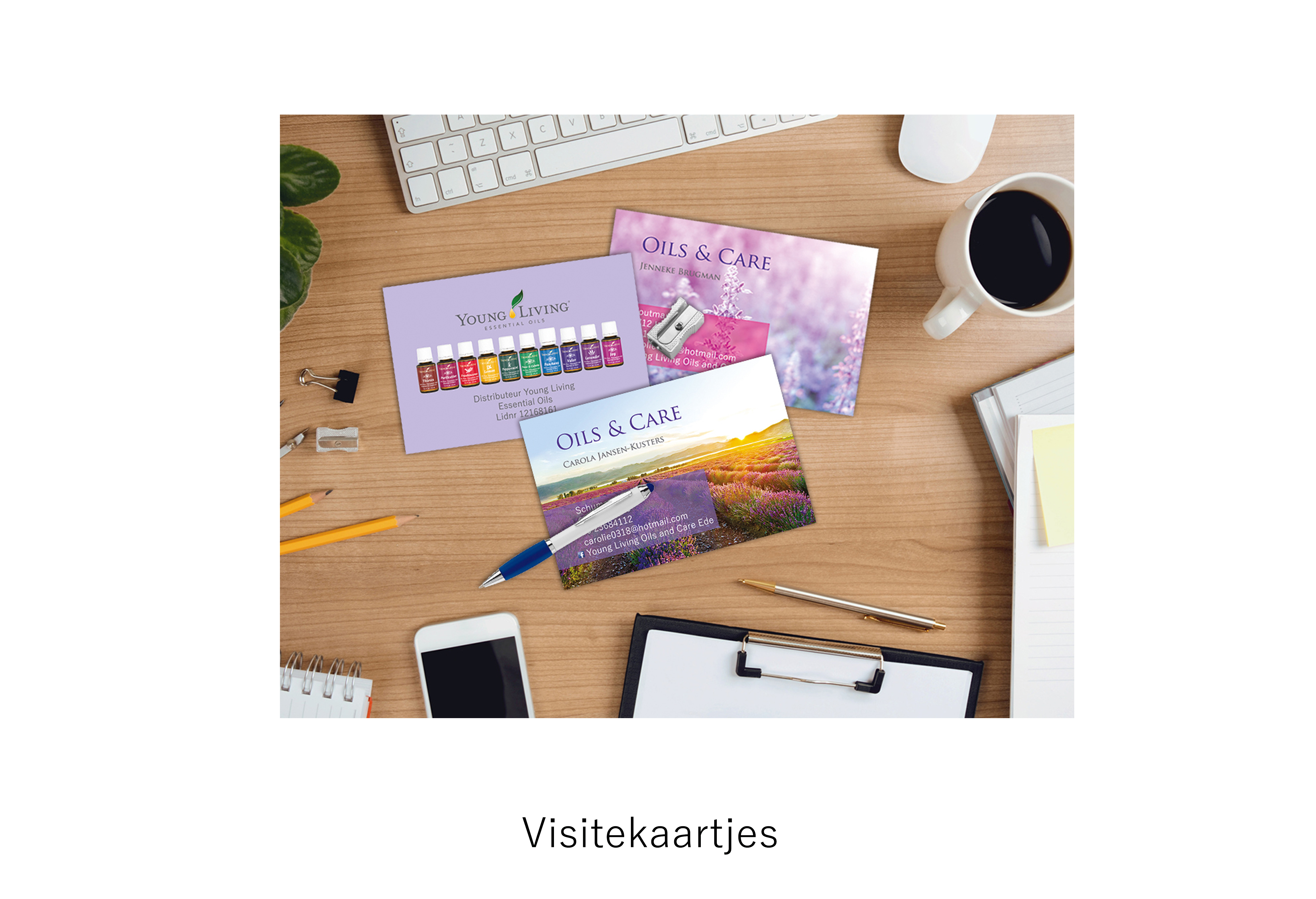 promotiemateriaal Oils and care